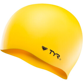 TYR Silicone Cap No Wrinkle, yellow